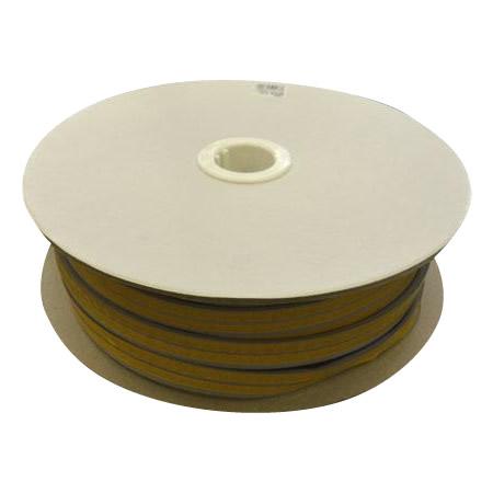 【代引き・同梱不可】光 (HIKARI) 戸当り防音クッションテープ粘着付グレーM型4×18mm KMG5-50W  50m
