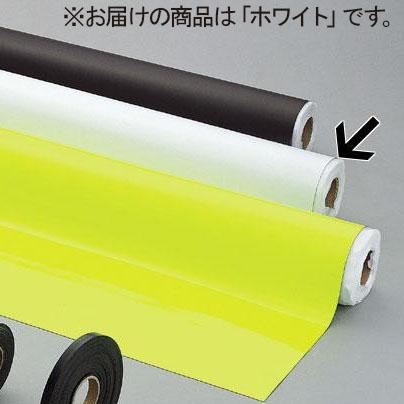 【代引き・同梱不可】光 (HIKARI) ゴムマグネット 0.8×1020mm 10m巻 ホワイト GM08-8004W