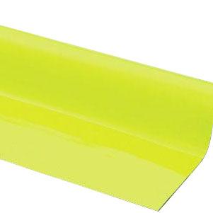 【代引き・同梱不可】光 (HIKARI) ゴムマグネット 0.8×1010mm 10m巻蛍光イエロー GM08-8006Y