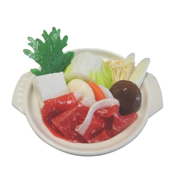 【代引き・同梱不可】日本職人が作る 食品サンプル 鍋 しゃぶしゃぶ IP-511