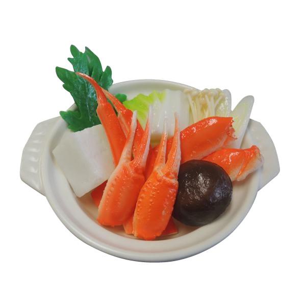 【代引き・同梱不可】日本職人が作る 食品サンプル 鍋 かにすき IP-512