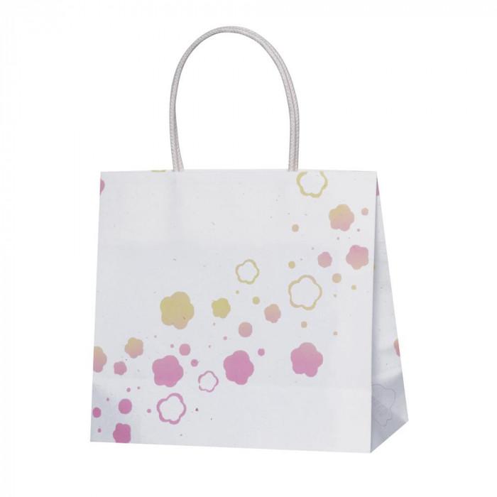 【代引き・同梱不可】パックタケヤマ 手提袋 ST 東北コットン ワタウメ 10枚×10包 XZT68802紙袋