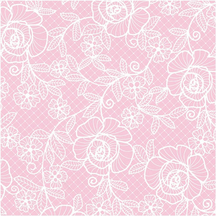 【代引き・同梱不可】パックタケヤマ 包装紙 ローズレース ピンク四六1/2 50枚×10包 XZT01682ギフト ラッピング プレゼント