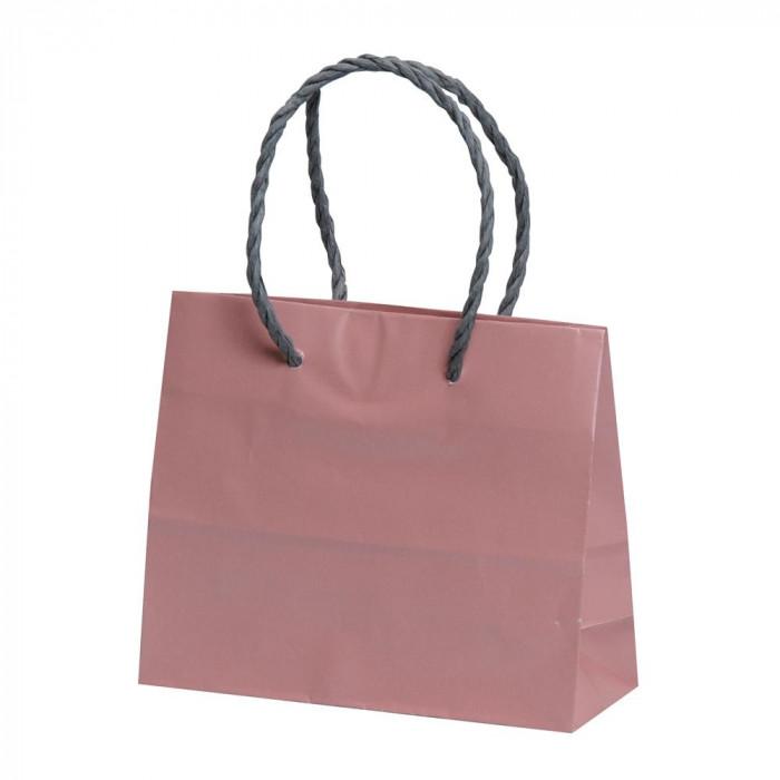 【代引き・同梱不可】パックタケヤマ 手提袋 ミニ ローズ 20枚×10包 XZT00579紙袋