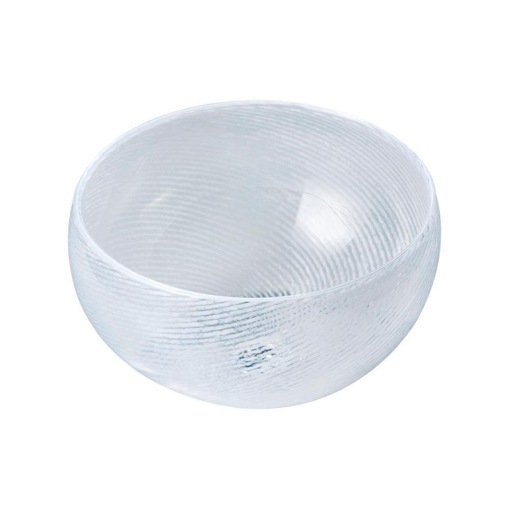 【代引き・同梱不可】置き型手洗器Φ270(クレールグラス・シリーズ/ブランストライプ) CB2-BS
