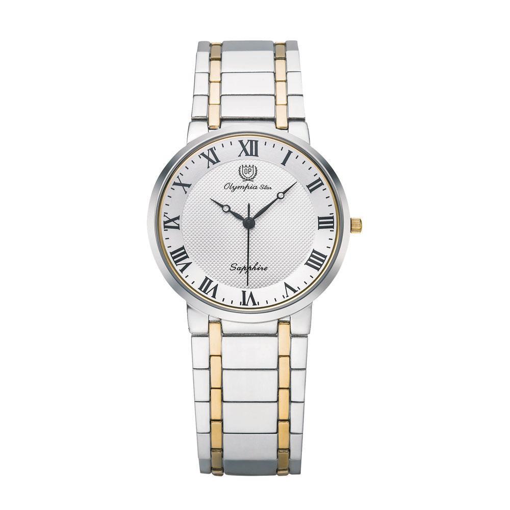 【代引き・同梱不可】OLYMPIA STAR(オリンピア スター) メンズ 腕時計 OP-58037MSK-3