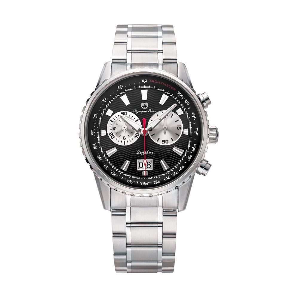 【代引き・同梱不可】OLYMPIA STAR(オリンピア スター) メンズ 腕時計 OP-589-01MS-1