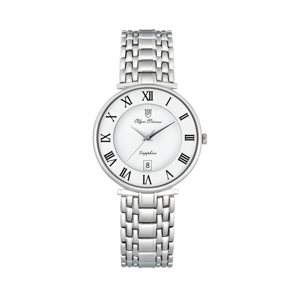 【代引き・同梱不可】OLYM PIANAS(オリン ピアナス) メンズ 腕時計 ON-5677MS-3