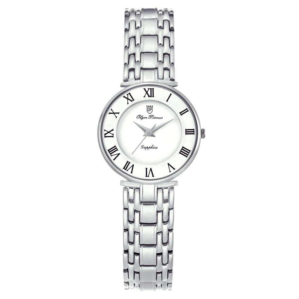 【代引き・同梱不可】OLYM PIANAS(オリン ピアナス) レディース 腕時計 ON-5677LS-3