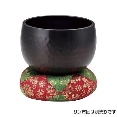 【代引き・同梱不可】高岡銅器 真鍮製仏具 大徳寺リン 5.0寸 81-11