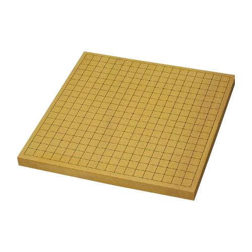 【代引き・同梱不可】碁盤 卓上用・平盤 新榧 10号 (ハギ)柾目 松(上) GB-S104