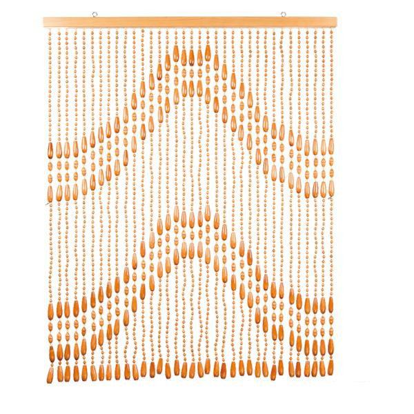 【代引き・同梱不可】ヒョウトク 世界遺産認定富士山柄 珠のれん W85×H103cm FS-2