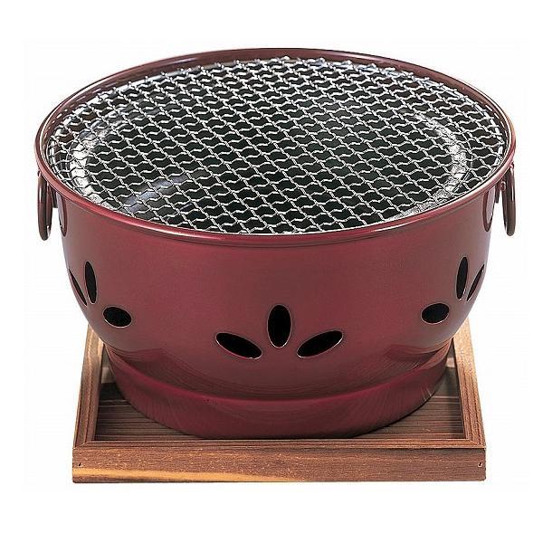 【代引き・同梱不可】割烹 ニュー炭火亭家庭用 煙出にくい コンロ
