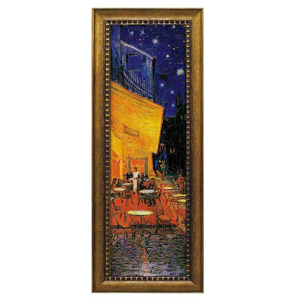 【代引き・同梱不可】ユーパワー ミュージアム シリーズ ゴッホ「夜のカフェテラス」 MW-18093壁掛け インテリア 額