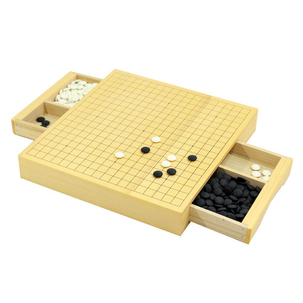 【代引き・同梱不可】三冠王II 囲碁セット GS-SK10対戦 遊び 引き出し