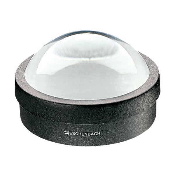 【代引き・同梱不可】エッシェンバッハ デスクトップルーペ(ガラス) (1.8倍枠付) 1421デスク 虫眼鏡 虫メガネ