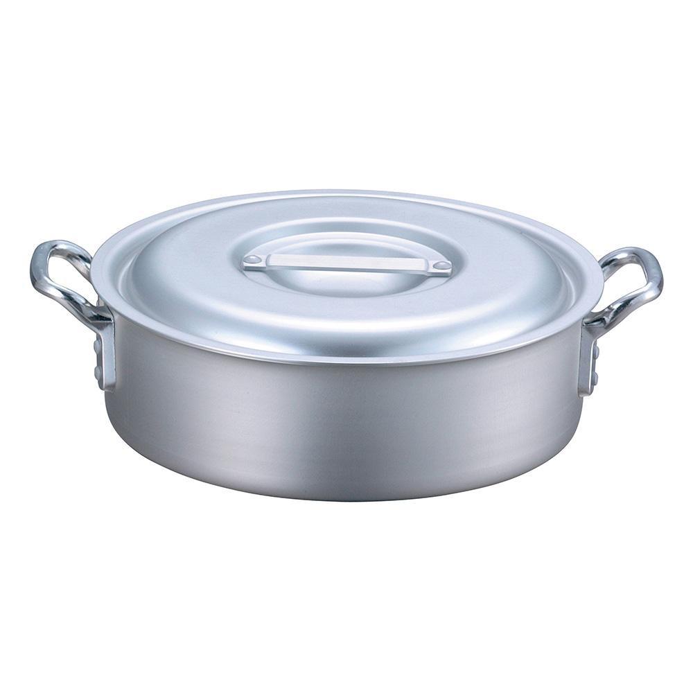 【代引き・同梱不可】EBM アルミ プロシェフ IH 外輪鍋 42cm 8108100調理器具 アルミ鍋 IH対応