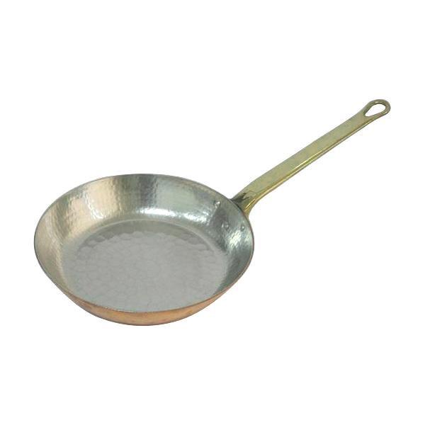 【代引き・同梱不可】中村銅器製作所 銅製 フライパン 22cm