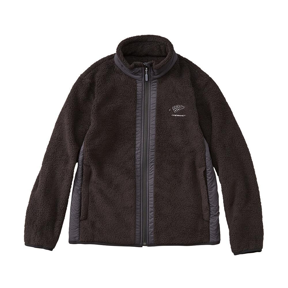 【代引き・同梱不可】FREE KNOT フリーノット FOURON シェルパフリースジャケット ブラック(90) Lサイズ Y1137-L-90