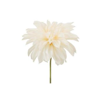 【代引き・同梱不可】アーティフィシャルフラワー ラージダリアピック ホワイト 12本セット P4667 アレンジメント