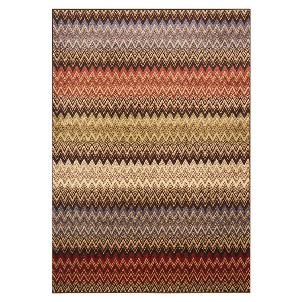 【代引き・同梱不可】ウィルトンラグ AURA(オーラ) 約160×230cm シェブロン 270041310