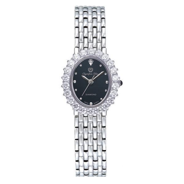 【代引き・同梱不可】OLYMPIA STAR(オリンピア スター) レディース 腕時計 OP-28006DLS-1
