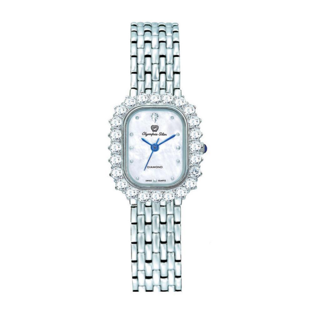 【代引き・同梱不可】OLYMPIA STAR(オリンピア スター) レディース 腕時計 OP-28015DLS-3