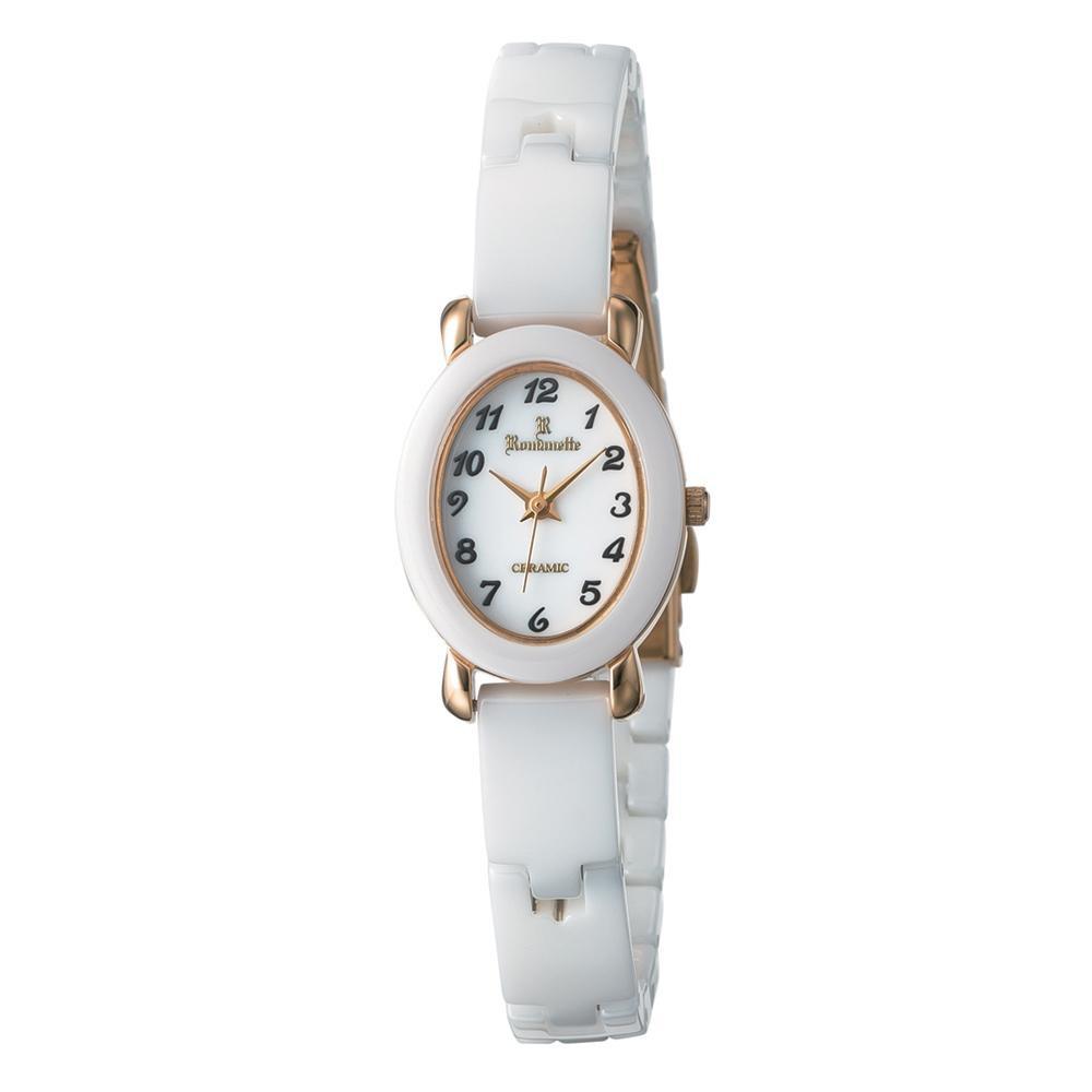 【代引き・同梱不可】ROMANETTE(ロマネッティ) レディース 腕時計 RE-3528L-04