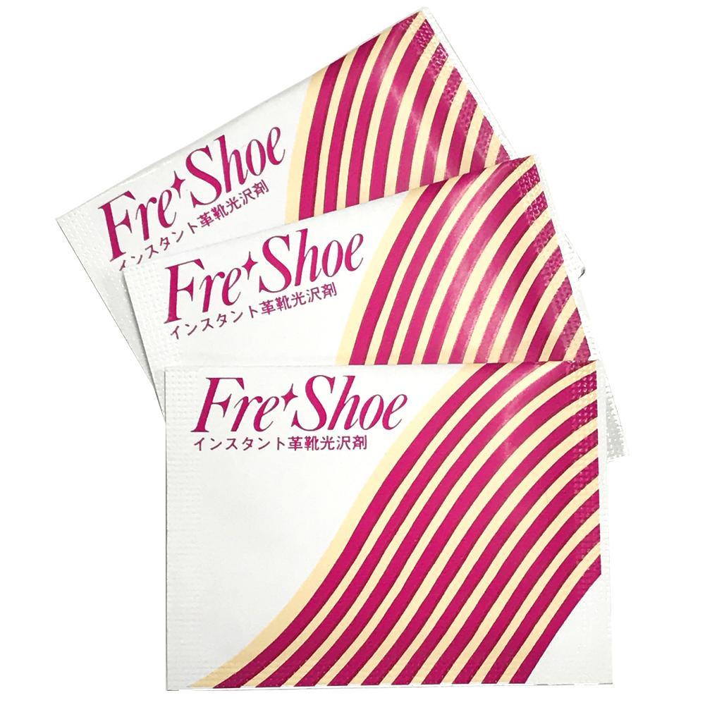 【代引き・同梱不可】フレッシュー インスタント革靴光沢剤 400枚