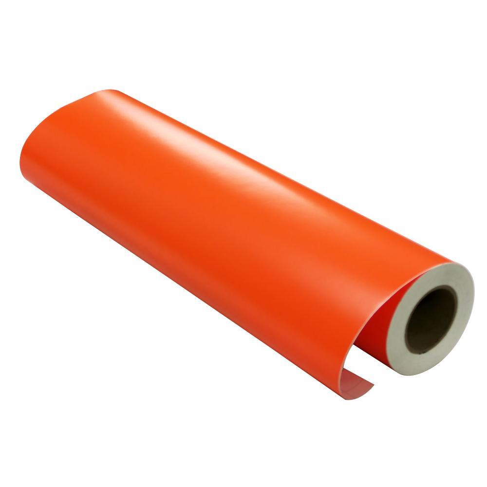 【代引き・同梱不可】屋内用マイカラータック 92cm×20m ビビッドオレンジ CT-21