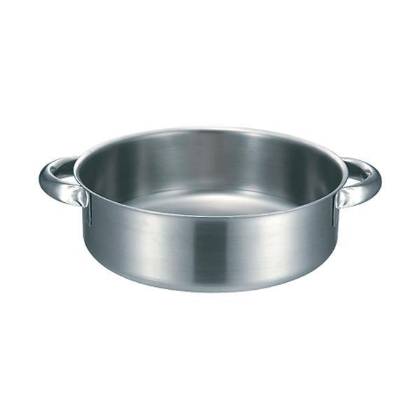 【代引き・同梱不可】19-0 IH外輪鍋蓋無 36cm 004723-036