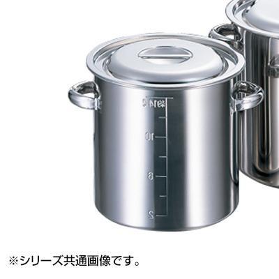 【代引き・同梱不可】AGモリブデン目盛付寸胴鍋 36cm 013370-036