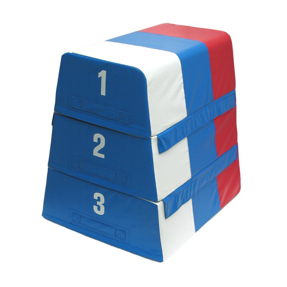 【代引き・同梱不可】3色セフティー跳び箱 3段 ST-12小学生 セーフティー 体育