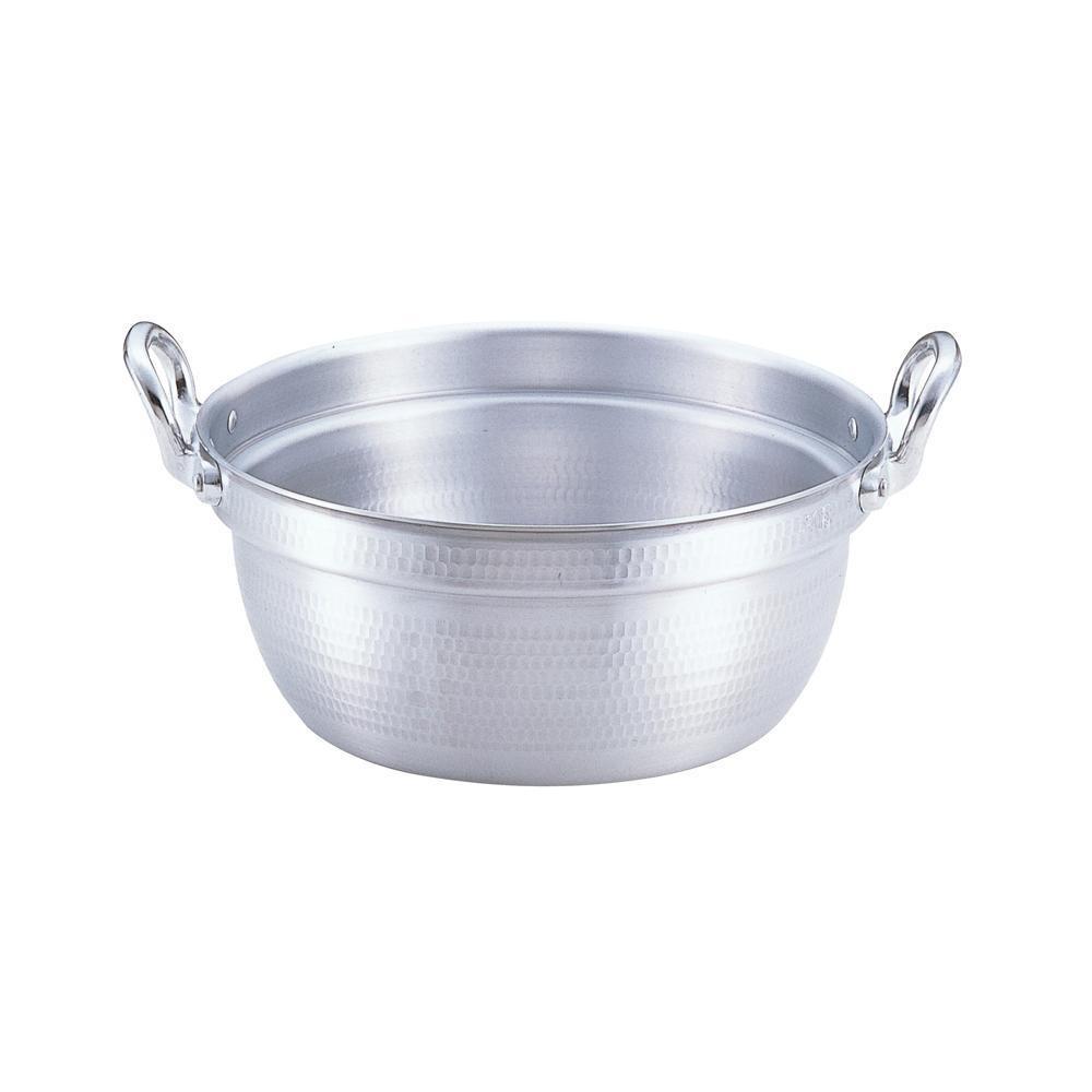【代引き・同梱不可】EBM アルミ 打出 料理鍋 54cm 6175200