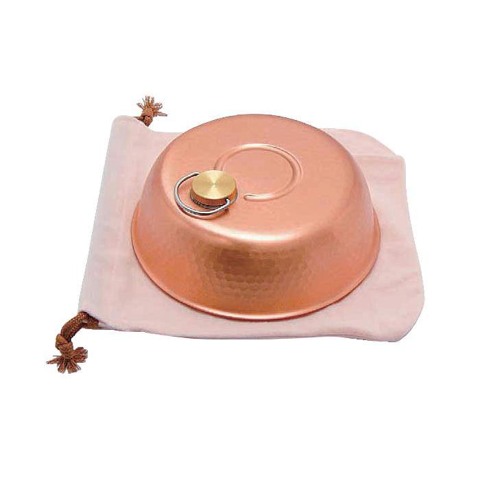 【代引き・同梱不可】新光堂 銅製ドーム型湯たんぽ(大) S-9398L