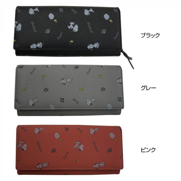 【代引き・同梱不可】ピーナッツ スヌーピー 73202 財布 中LF束入