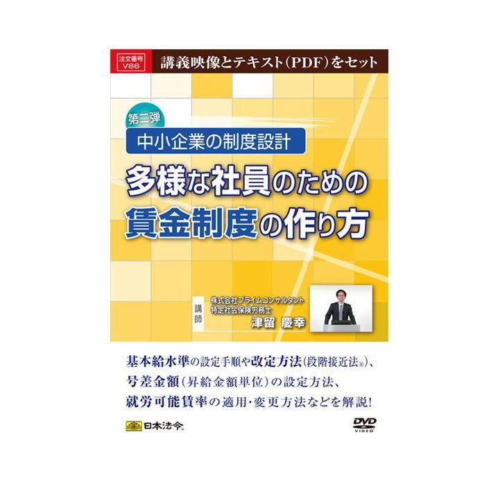 【代引き・同梱不可】DVD 中小企業の制度設計 多様な社員のための賃金制度の作り方 V86