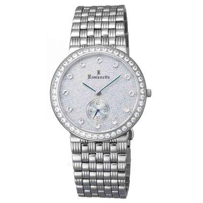 【代引き・同梱不可】Romanette(ロマネッティ) ステンレス メンズ腕時計 RE-3517M-3