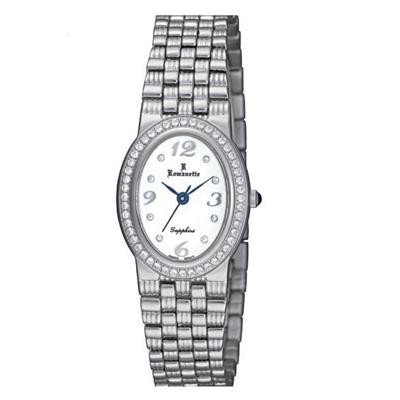 【代引き・同梱不可】Romanette(ロマネッティ) ステンレス レディース腕時計 RE-3523L-3
