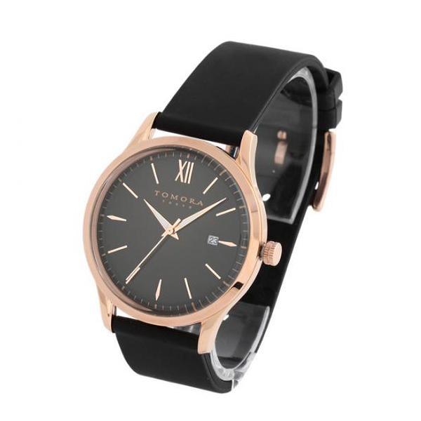 【代引き・同梱不可】TOMORA TOKYO(トモラ トウキョウ) T-1605-PBK 腕時計