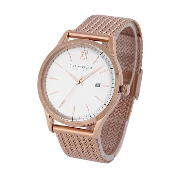 【代引き・同梱不可】TOMORA TOKYO(トモラ トウキョウ) T-1605SS-PWH 腕時計