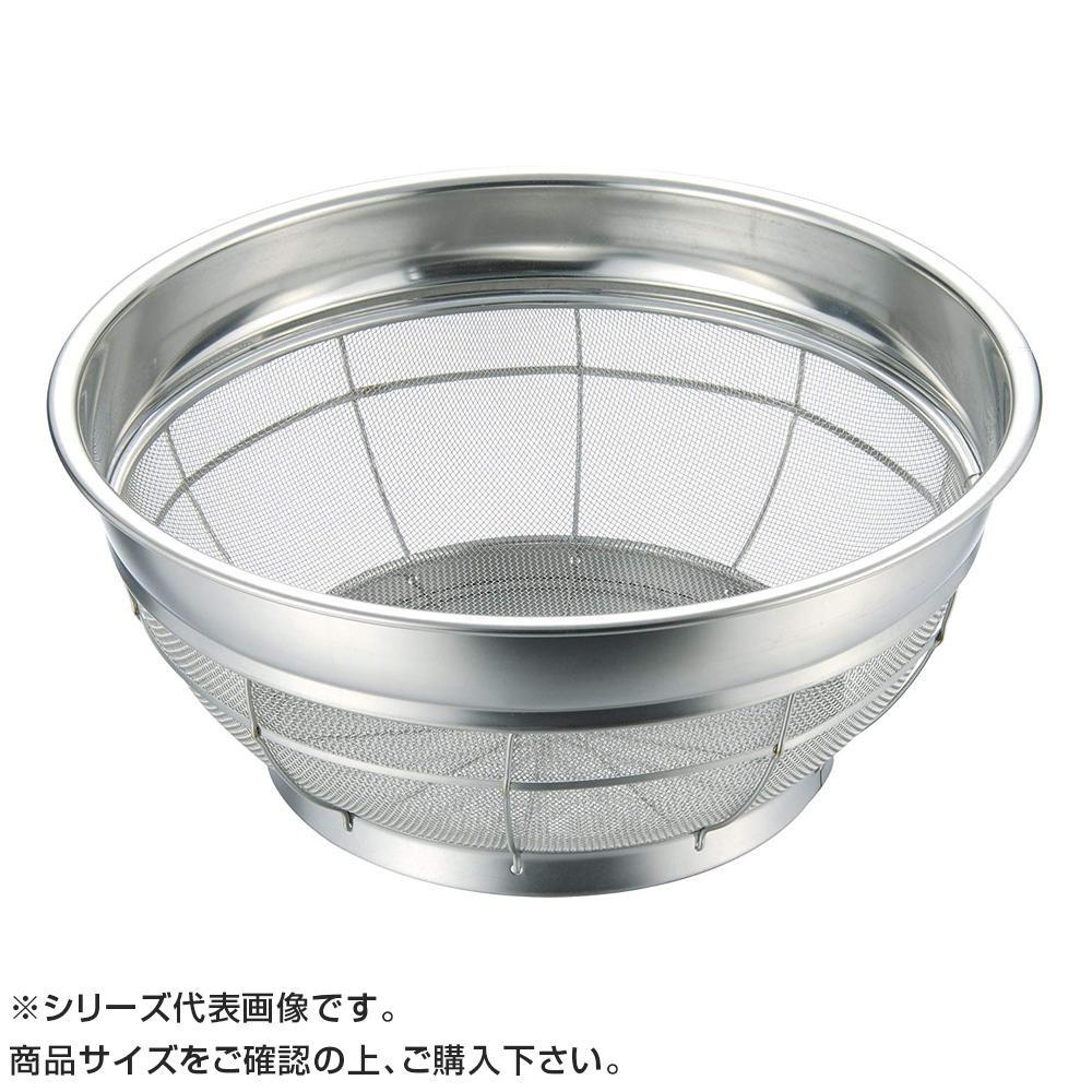 【代引き・同梱不可】BK 18-8浅型ザル 46cm 037012