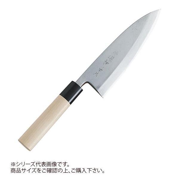 【代引き・同梱不可】特選神田作 和包丁 出刃165mm 129100