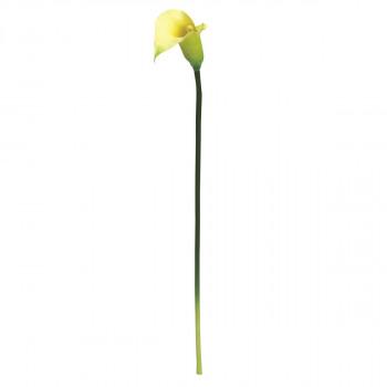 【代引き・同梱不可】アーティフィシャルフラワー カラーリリー グリーン 12本セット G7467 アレンジメント