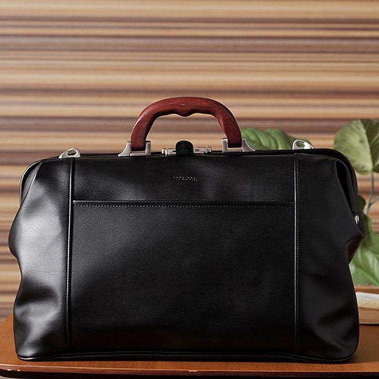 【代引き・同梱不可】日本製 B4サイズ収納可! McGREGOR(マックレガー) ミニダレスバッグ 21955N ブラック黒 合成皮革 レザーバッグ