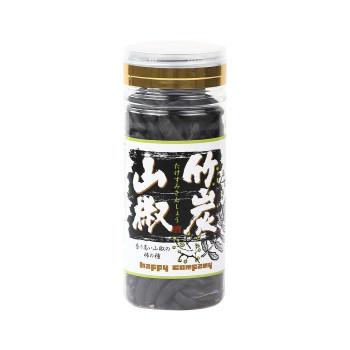 【代引き・同梱不可】柿の種 竹炭山椒 100g×42個
