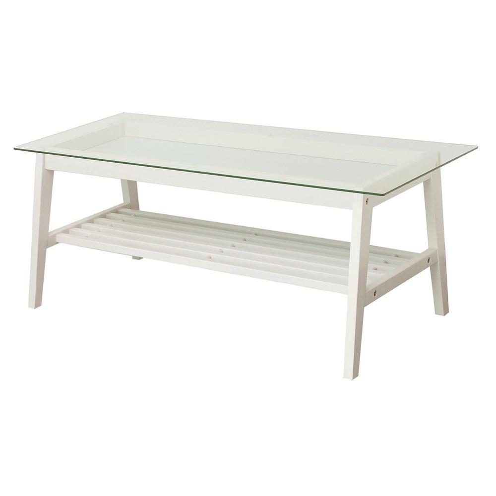 【代引き・同梱不可】ine reno living table INT-2559WHかわいい リビング センターテーブル