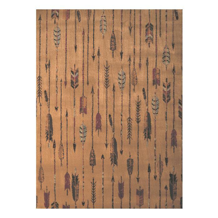 【代引き・同梱不可】ユナイテッド・ウィーバーズ・オブ・アメリカ キルテッドアロー ラグ ルームサイズ 160×220cm UW06317R
