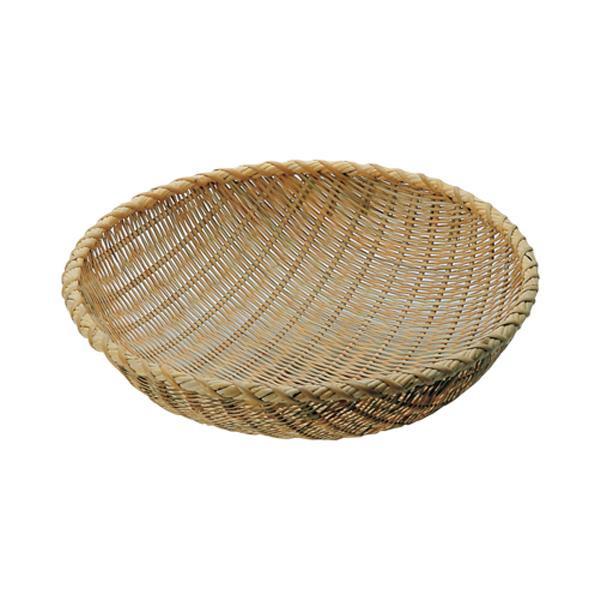 【代引き・同梱不可】竹製揚ザル 54cm 001038-006