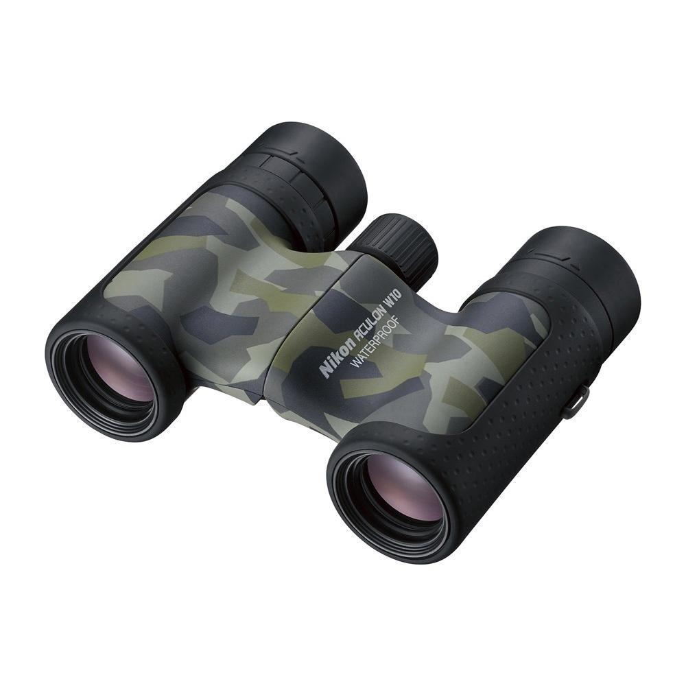 【代引き・同梱不可】双眼鏡 BAA847WC アキュロン W10 10×21 カムフラージュ 071077